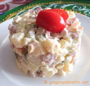 Tashkent - russian salad