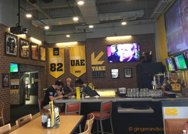 Buffalo Wild Wings Restaurant in Dubai