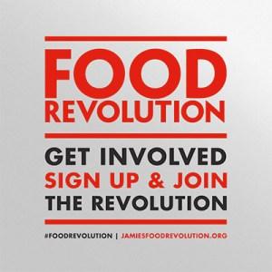 Jamie Oliver's Food Revolution logo