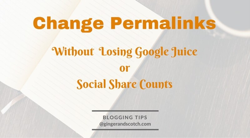 Change Permalinks graphic