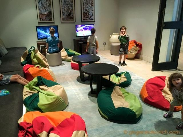Jabal Al Akhdar - kids play room