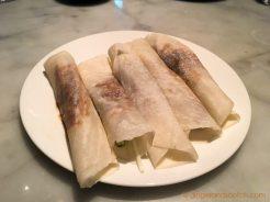 Hakkasan Yum Cha Brunch - Peking Duck Pancakes