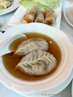 Royal China Dubai - Crab Soup Dumplings