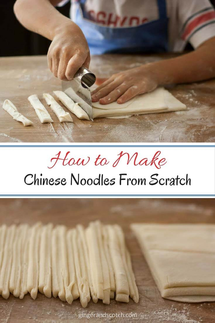 How to Make Homemade Chinese Noodles From Scratch