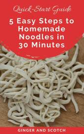 Quick Start Guide to Making Homemade Noodles