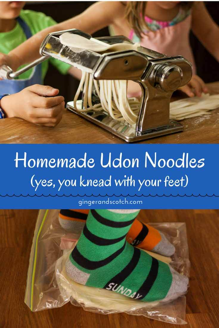 How to Make Homemade Udon Noodles From Scratch