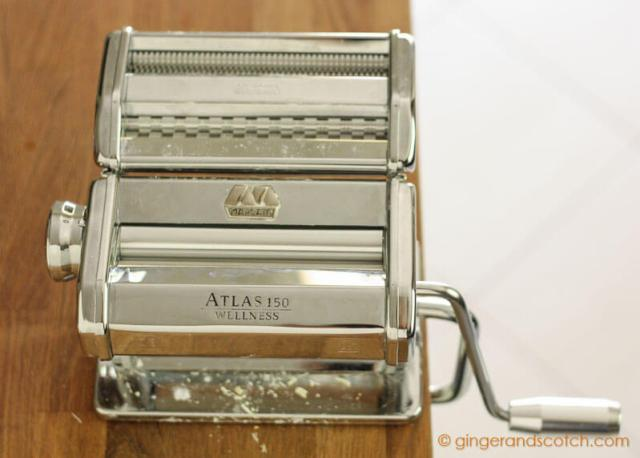 Marcato Pasta Machine from Crate and Barrel