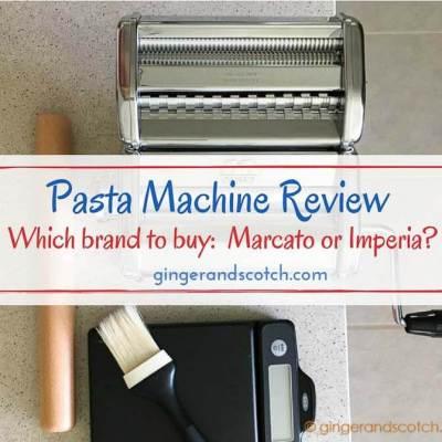 Pasta Machine Review: Marcato Atlas 150 vs CucinaPro Imperia 150