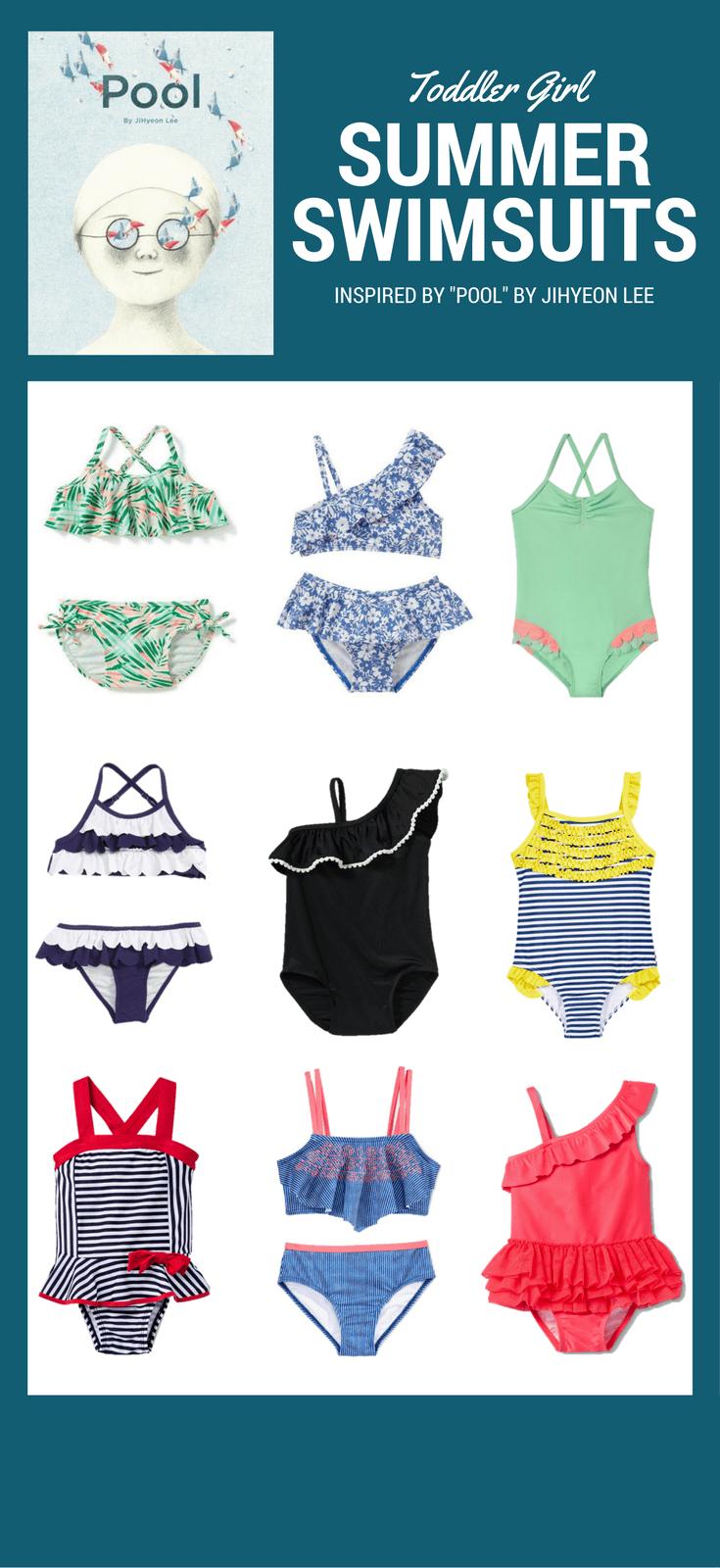 Favorite Toddler Girls Swimsuits for Summer 2017