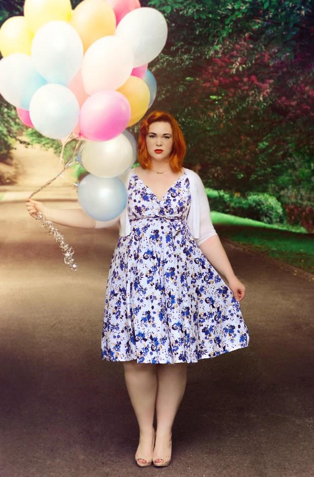 BBW-couture-blue-floral-vintage-dress-3
