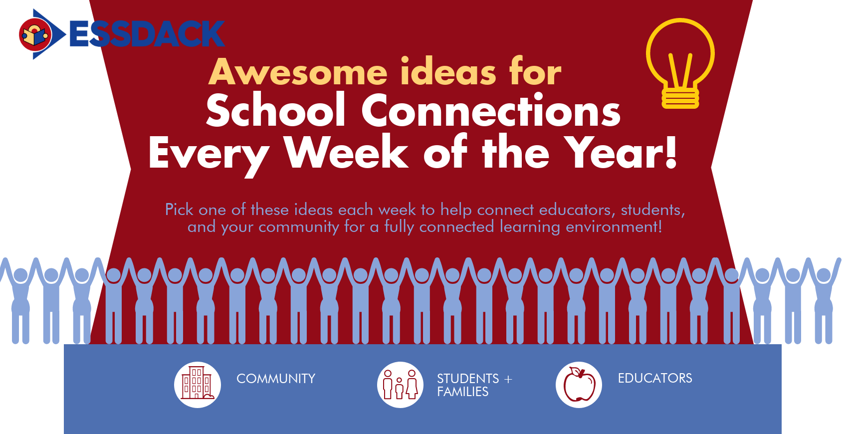 40 Incredible Ideas to Connect Your EduCommunity, pt 1