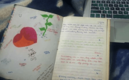 Front Page of my Journal