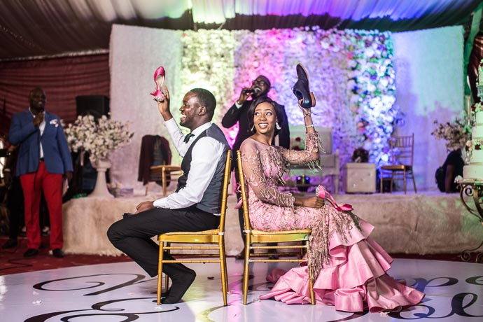 Relationship guru in Nigeria, Nigerian wedding reception