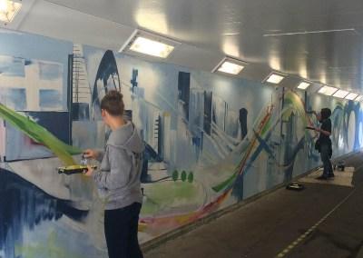 Subway Murals