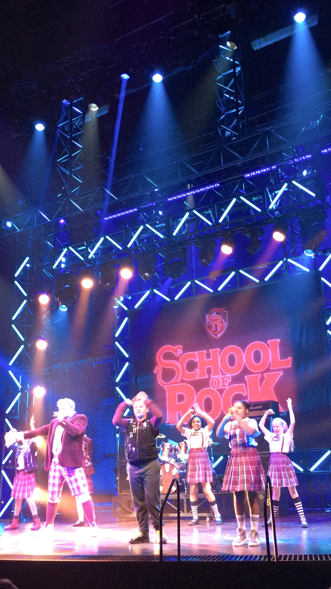 School of Rock - West End Shows Kids Theatre Review