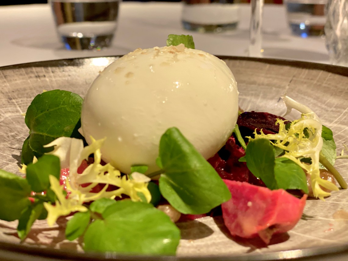 Burrata Petrichor Restaurant The Cavendish Hotel