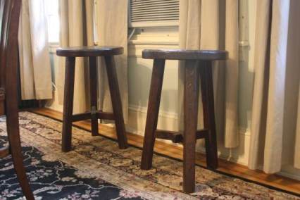 SOLD: PB Colby Stools $50