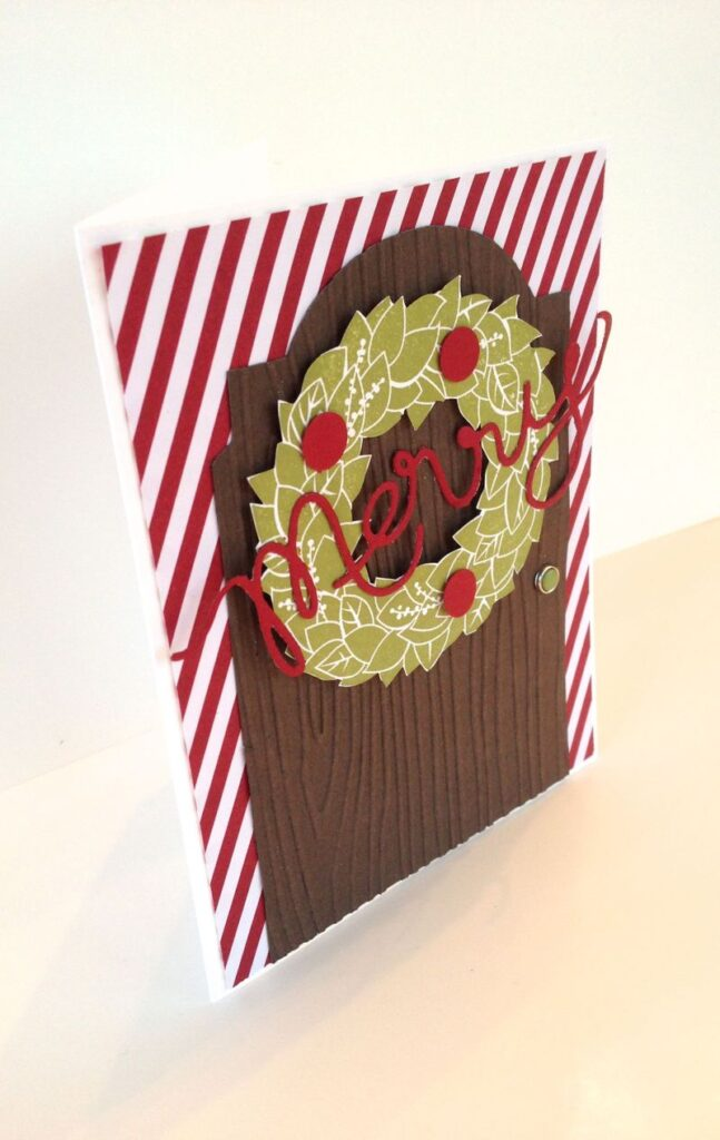 A Ginger Snap! A Christmas Door to Open!