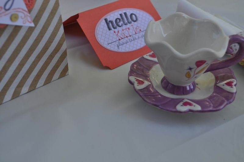 Katie's place setting