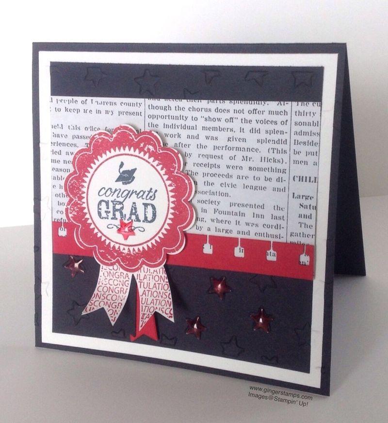 A Ginger Snap! Congrats Grad!