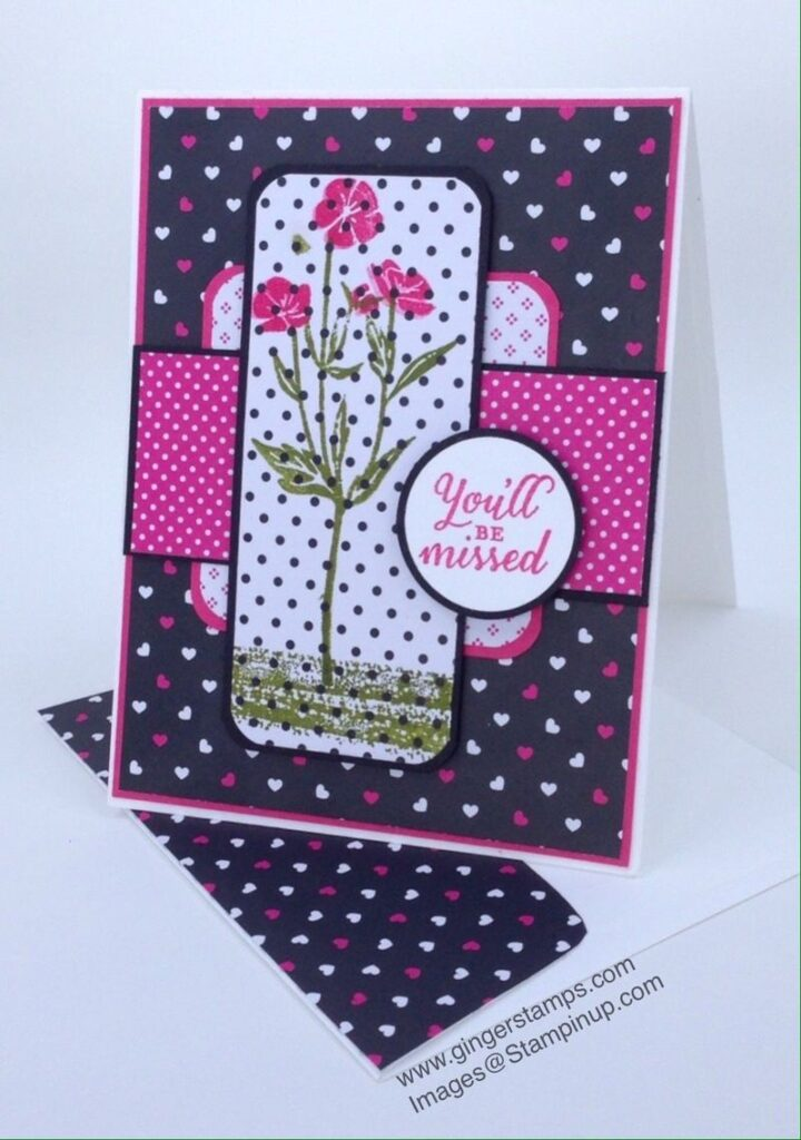 A Ginger Snap! Wild About Flowers  & Pop of Pink DSP!