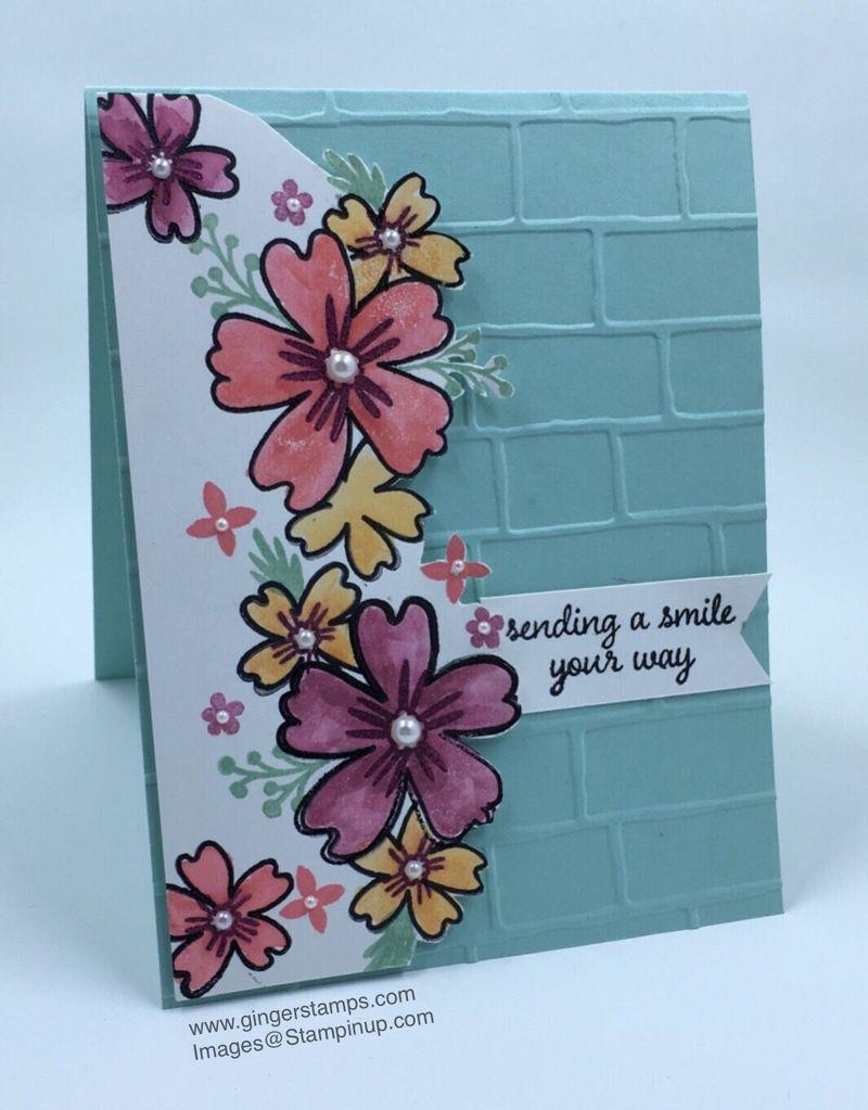 A Ginger Snap! Bricks, Mortar & Flowers!