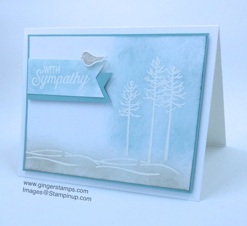 A Ginger Snap! Thoughtful Branches Sympathy Card!