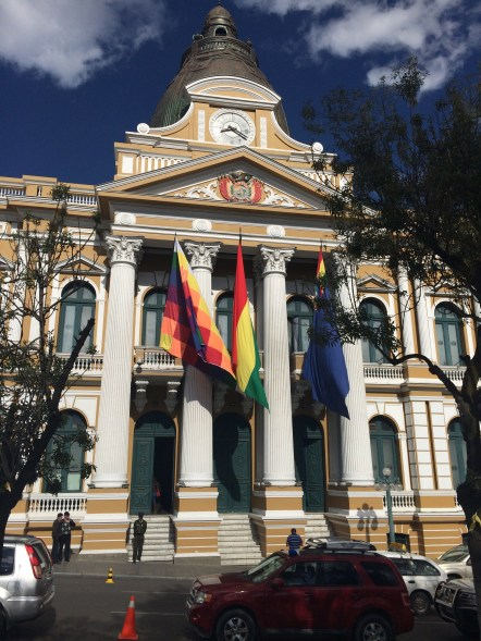 National Congress of Bolivia in La Paz