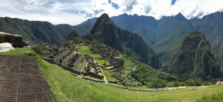 Overview of the Machu Picchu site