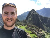 The Ginger Travel Guru at Machu Picchu
