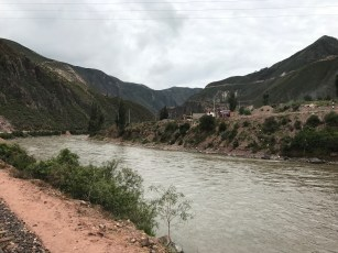 Urubamba River from the Andean Explorer