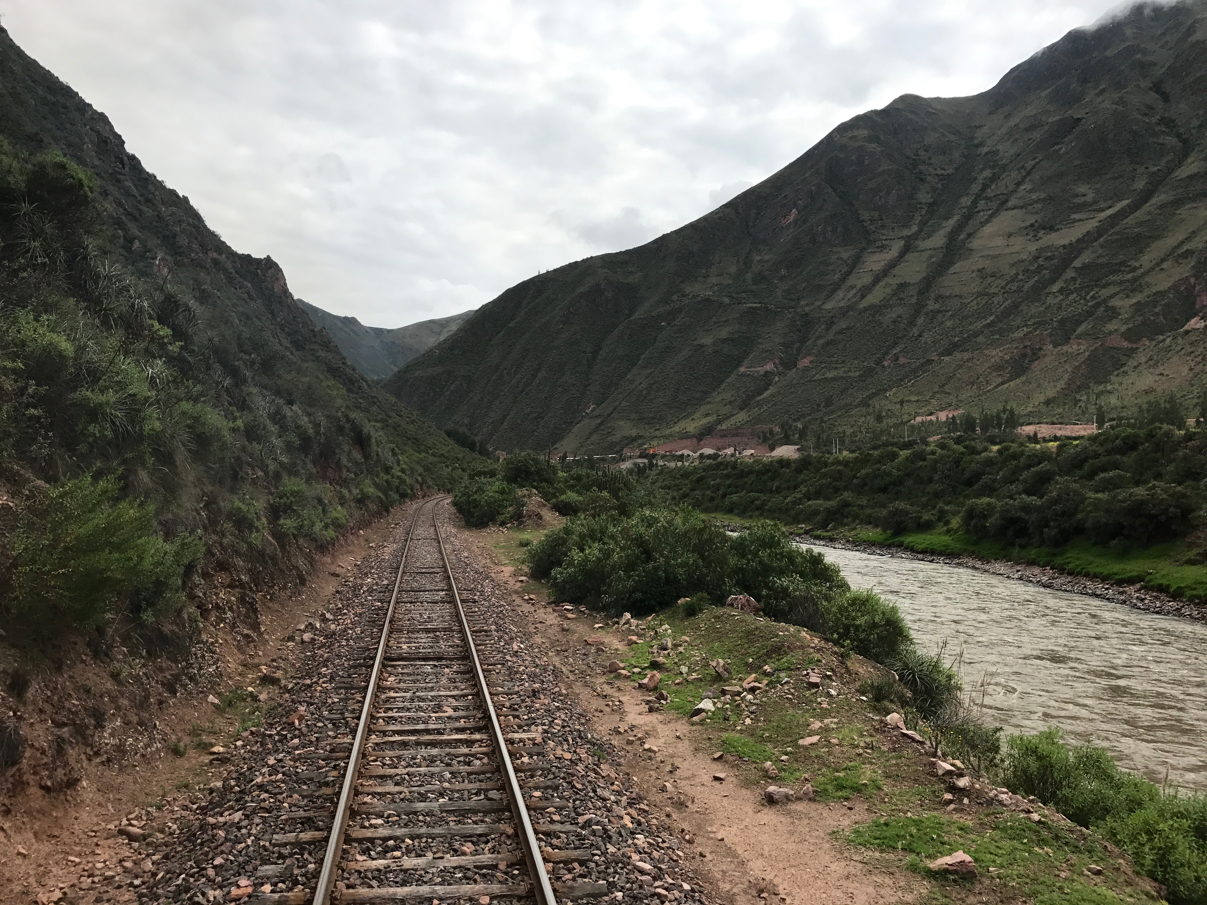 Andean Explorer looking towards Cusco