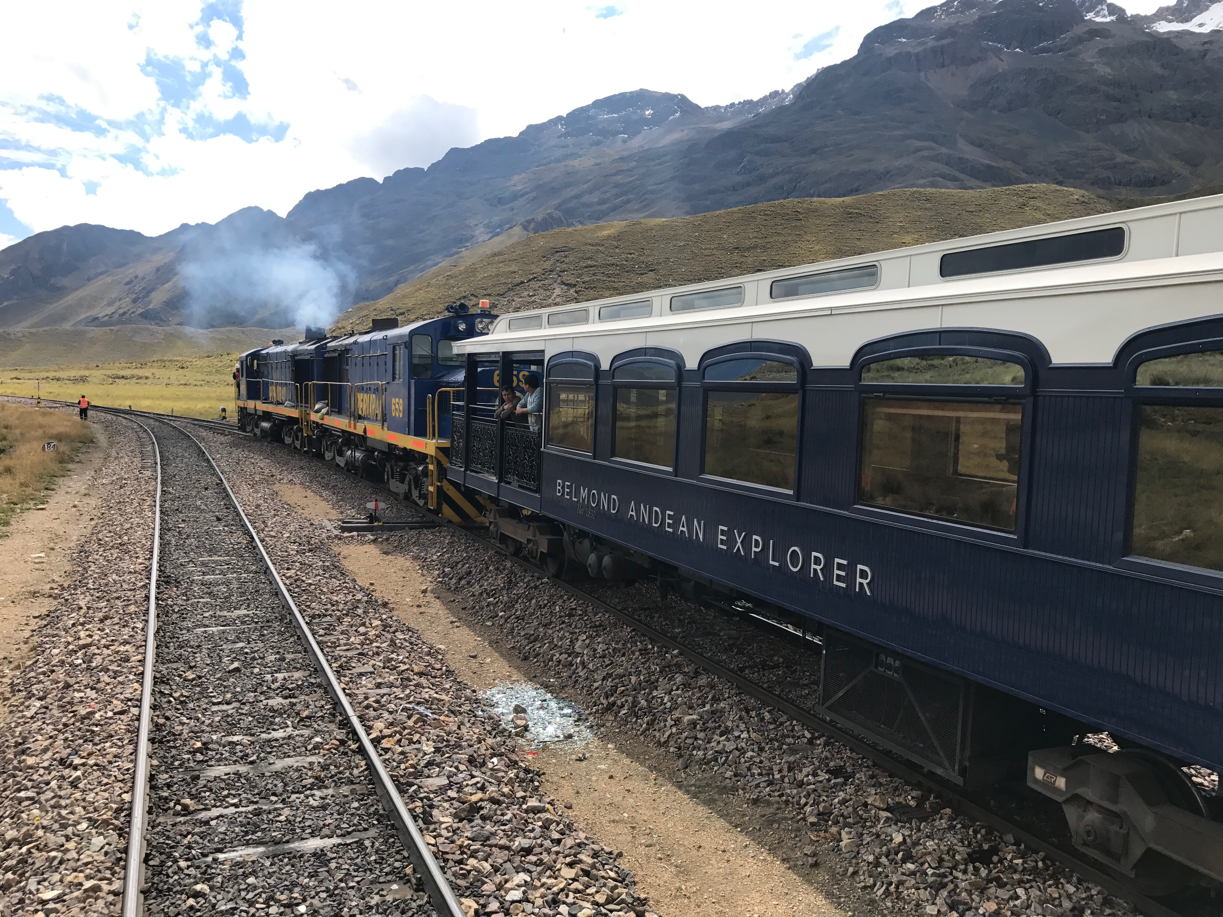 The new Belmond Andean Explorer