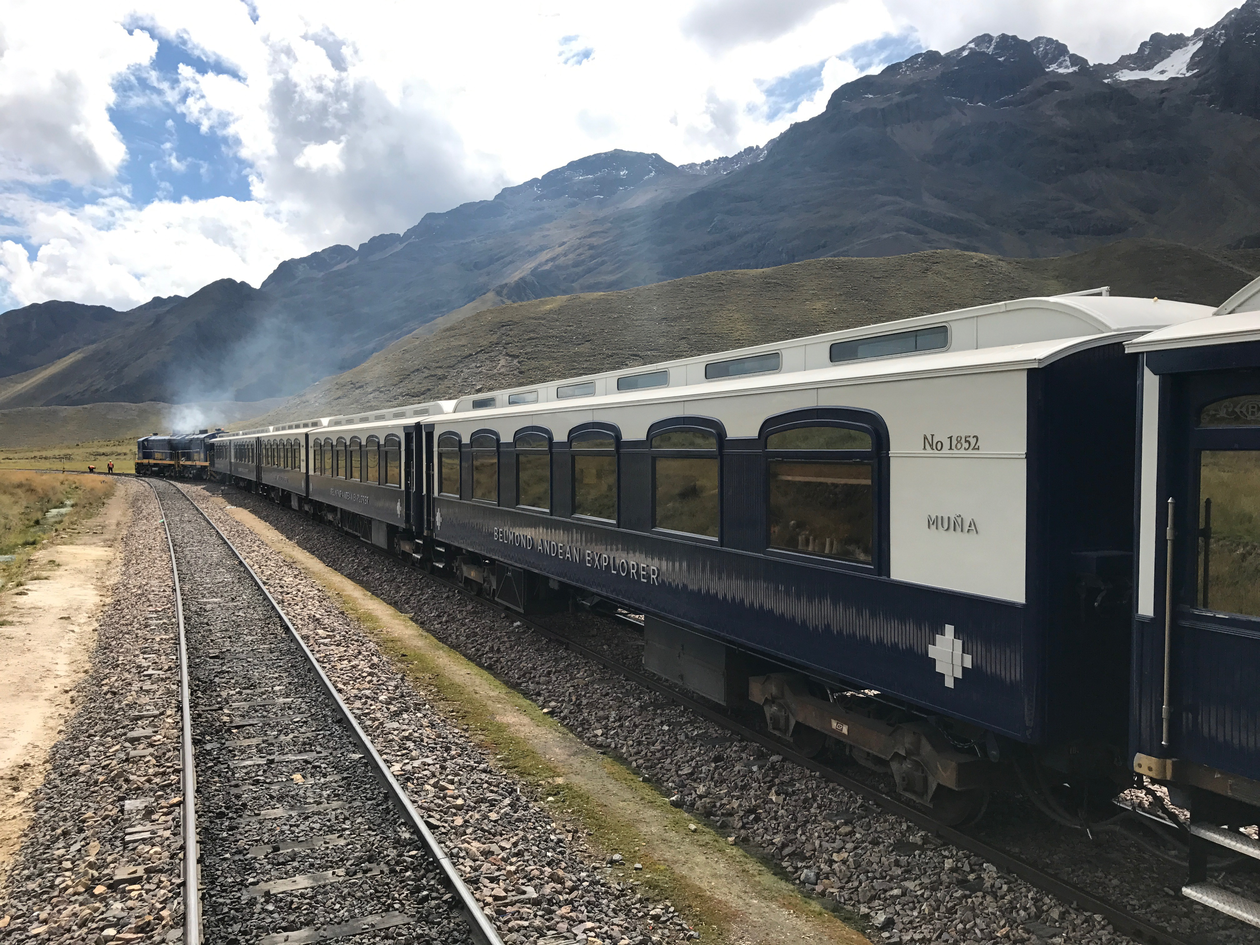 New Belmond Andean Explorer carriages