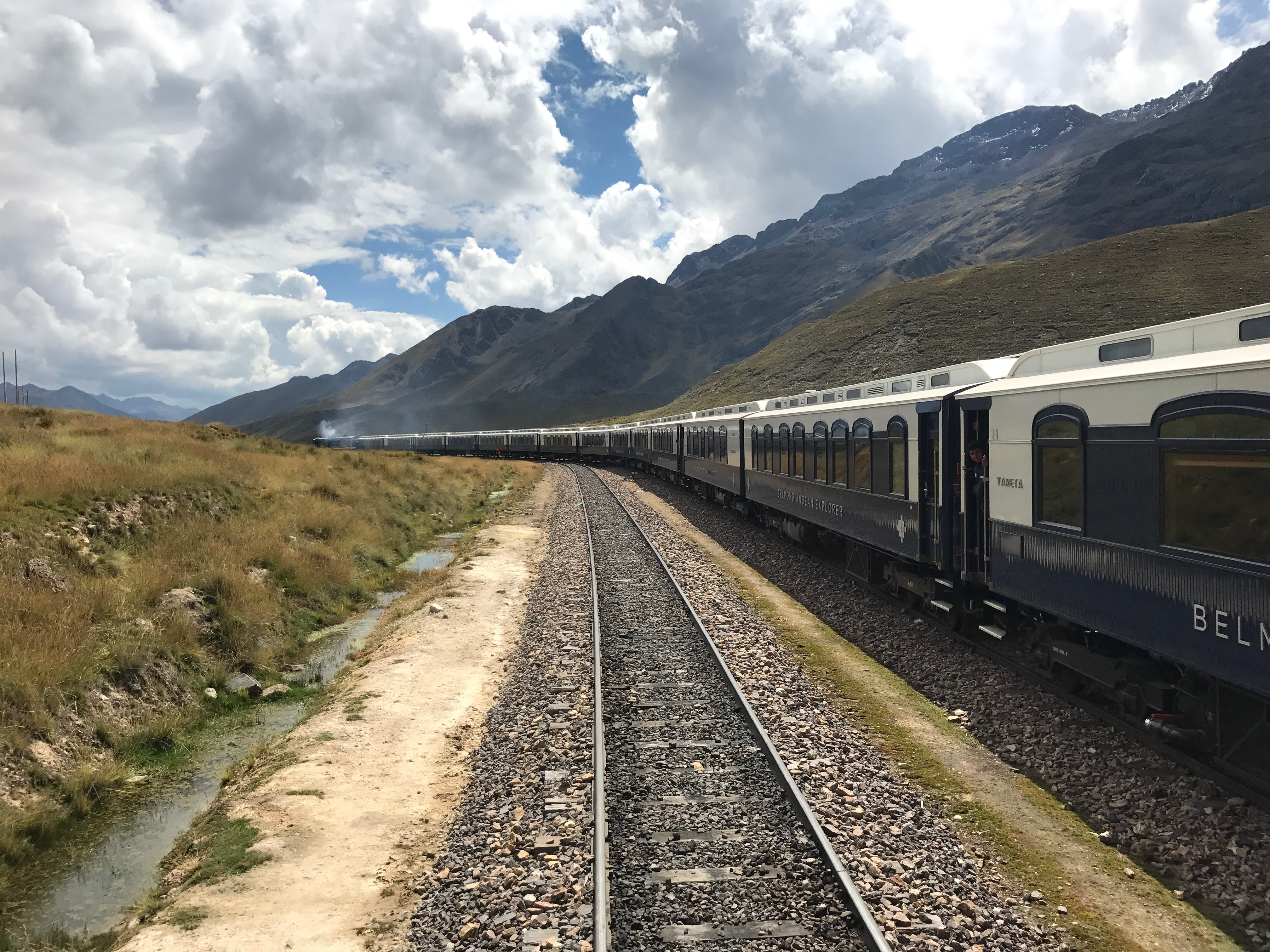 New Belmond Andean Explorer 16 carriage train
