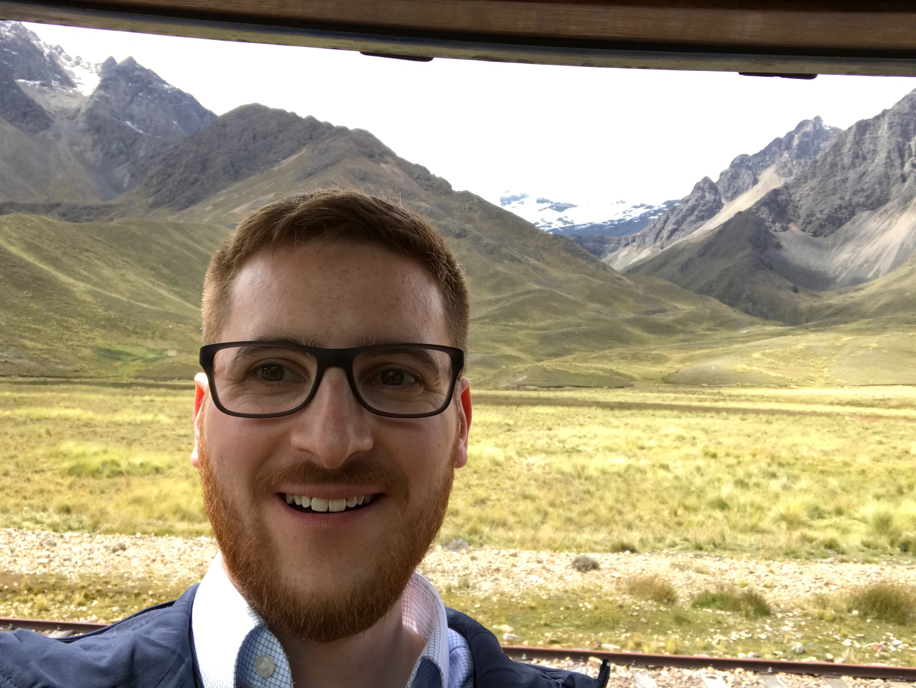 The Ginger Travel Guru on the Andean Explorer