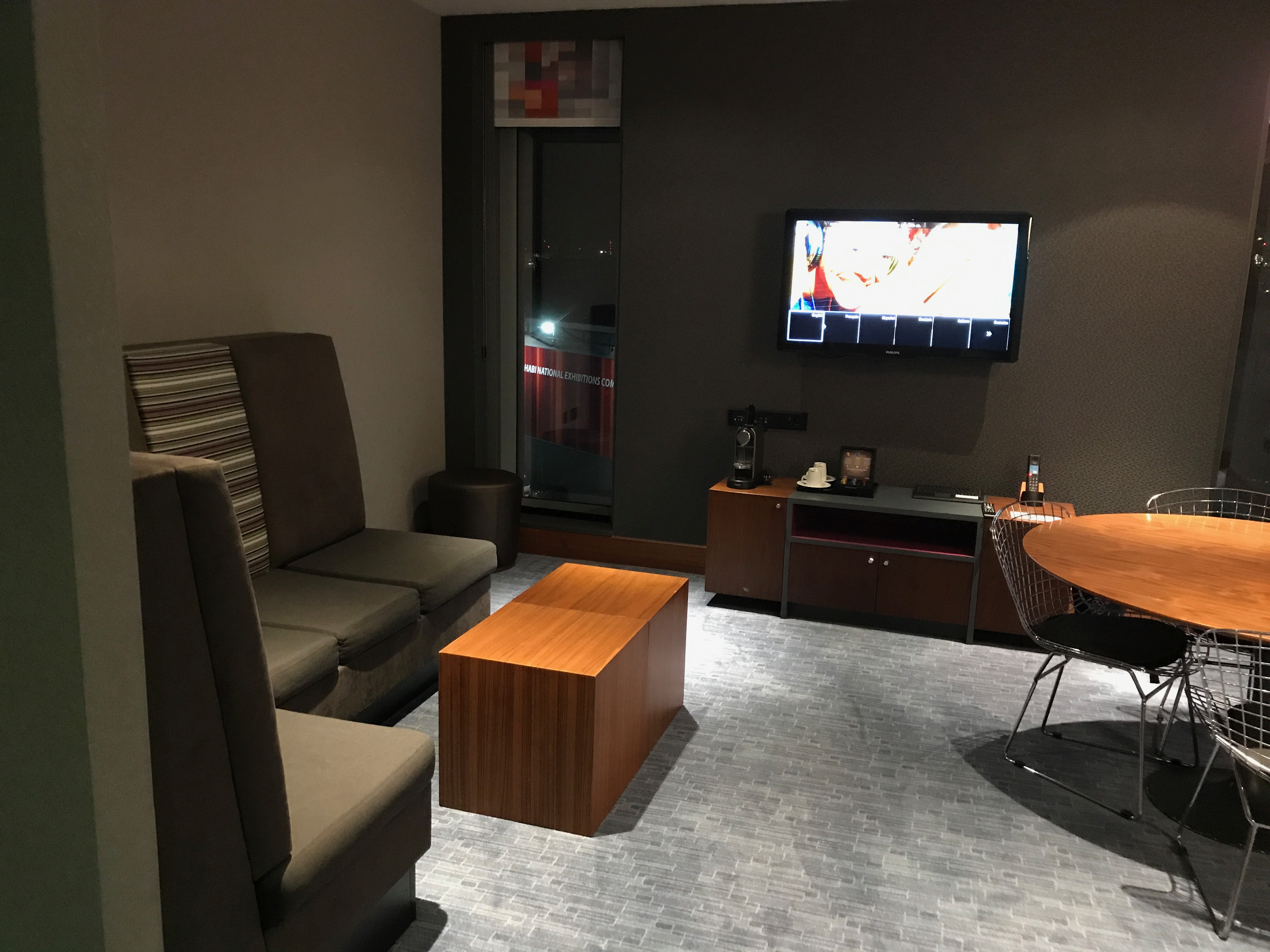 living area at the aLoft Excel