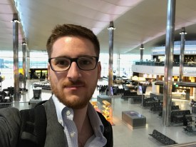 The Ginger Travel Guru at Heathrow Terminal 2