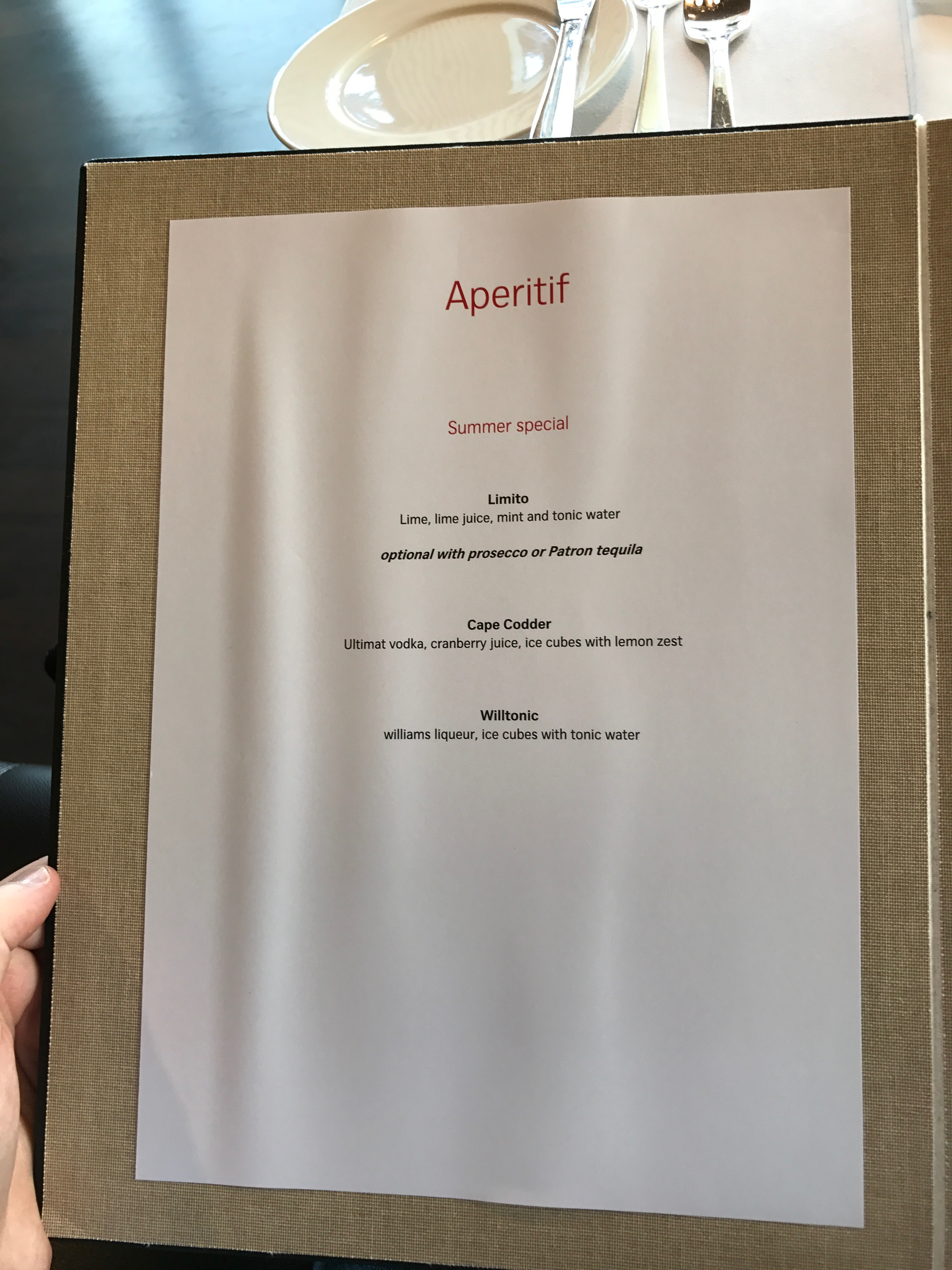 Swiss First Class Lounge at Zurich aperitif selection
