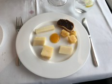 Selection of cheeses available in Swiss First clall
