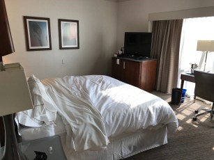 Westin Seattle king size bed