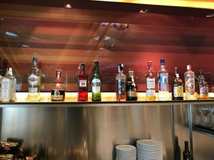 Spirits selection at the Iberia Sala Dalí in Madrid T4