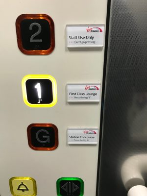Snarky comments in the lift