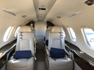 Phenom 300 interior looking rewards