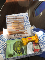 Surf Air snack pack contents