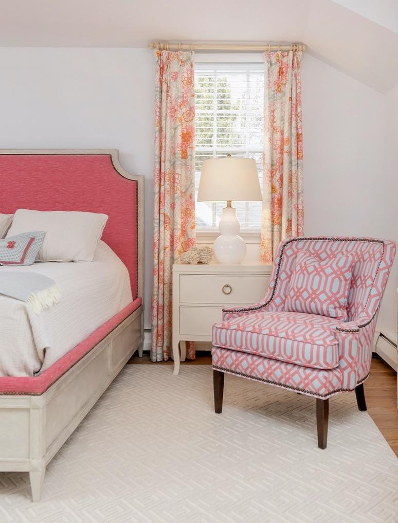 Pink Guest Bedroom 1