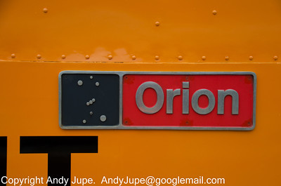 86 701 'Orion' nameplate