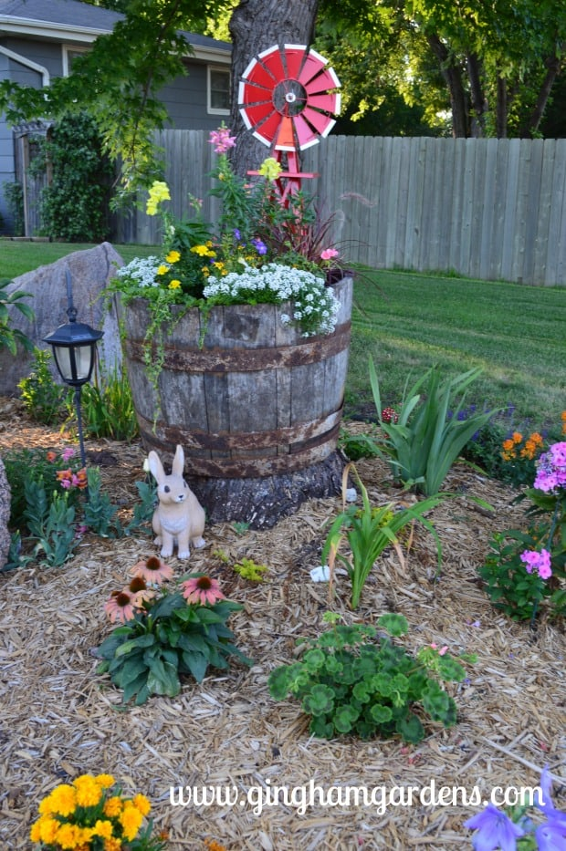 Garden Vignette at Gingham Gardens