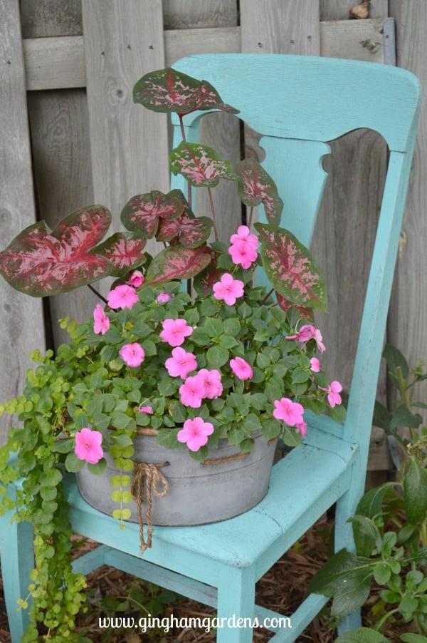 Vintage Chair in the Garden
