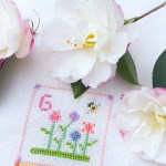 G is for Garden cross stitch
